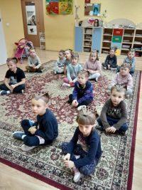 Dzieci zgrupy Jeżyki wDniu Jeża