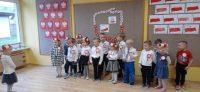 Katechizm Przedszkolaka - dzieci podczas recytacji wiersza