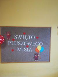 Dekoracja sali naŚwięto Pluszowego Misia