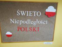 Dekoracja znapisem Święto Niepodległości Polski