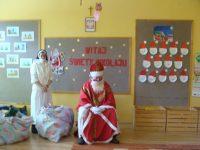 Mikołaj wprzedszkolu.