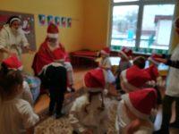 Recytacja wiersza napowitanie św.Mikołaja