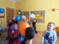 Zabawa zbalonami