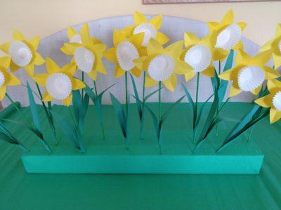 Wiosna - kolorowanie kredkami