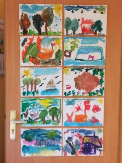Co tojest Polska? - malowanie farbami plakatowymi