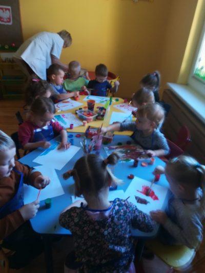 Co tojest Polska? malowanie farbami plakatowymi