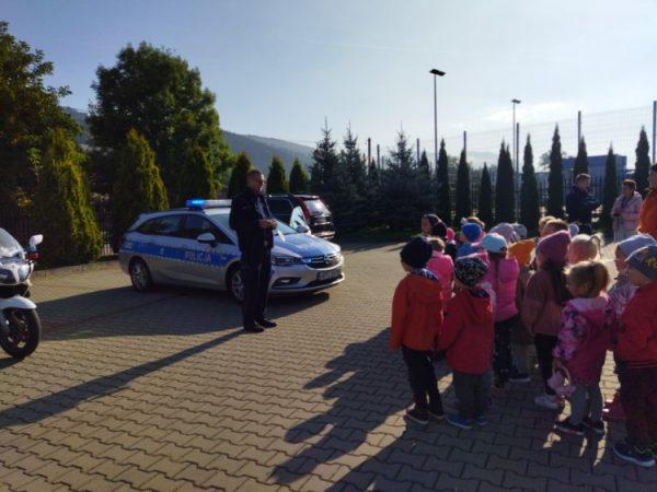 Spotkanie zpolicjantem